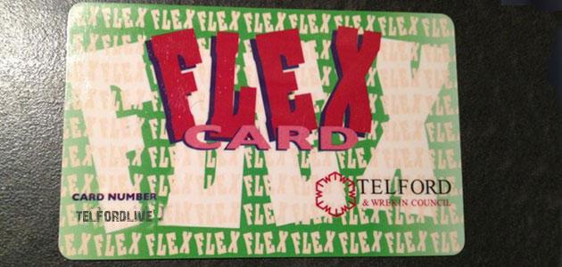 Telford and Wrekin Flexcard