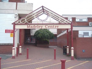 Madeley before the redevelopment.
