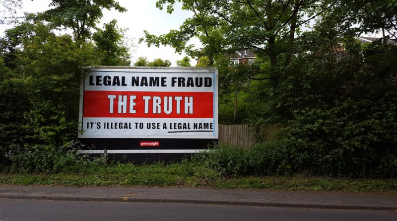 Telford Billboard Causes Confusion