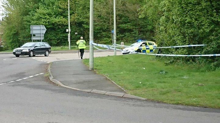 Car 'aimed at pedestrian' in Dawley