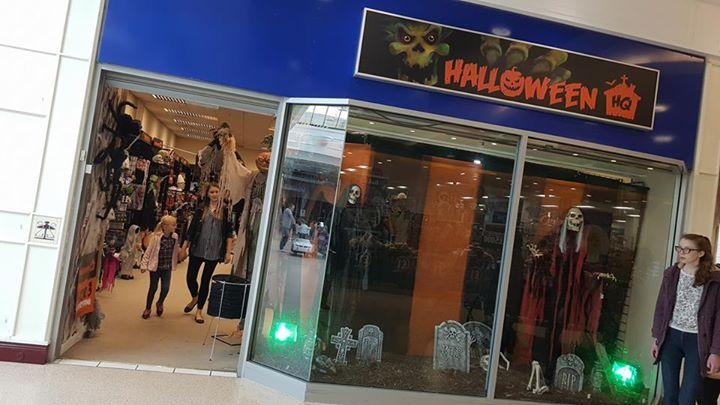 Halloween Shop Displays.Halloween Store Opens For Business Telford Live