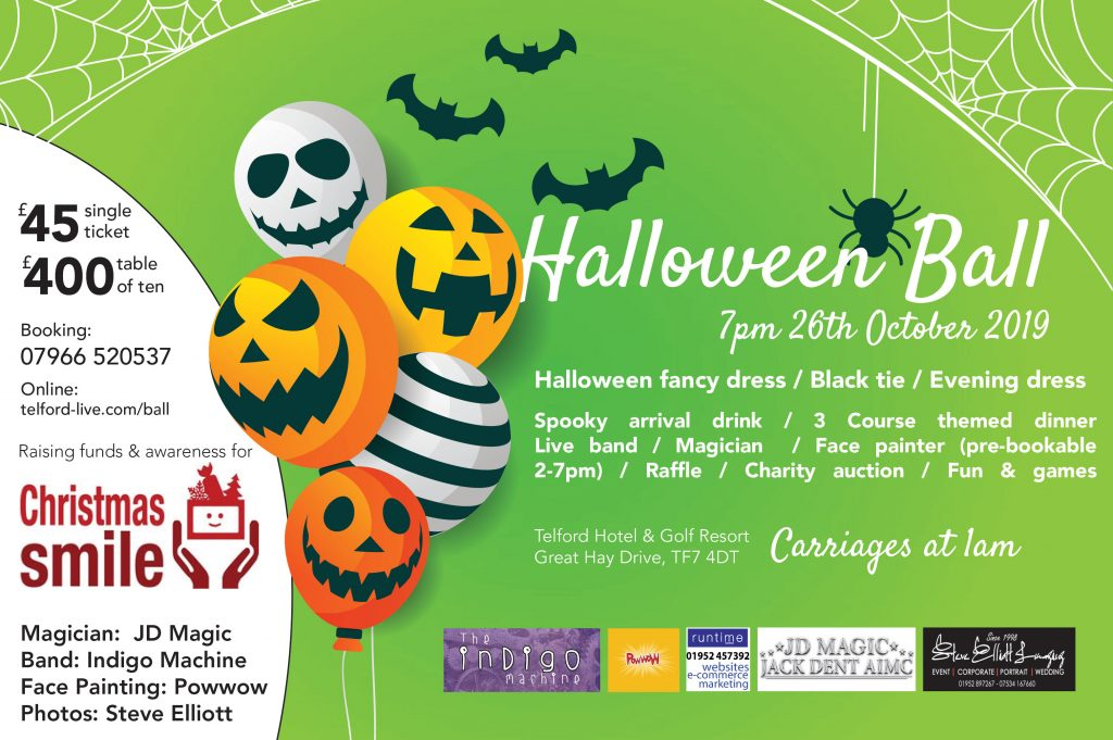 Telford Halloween Ball