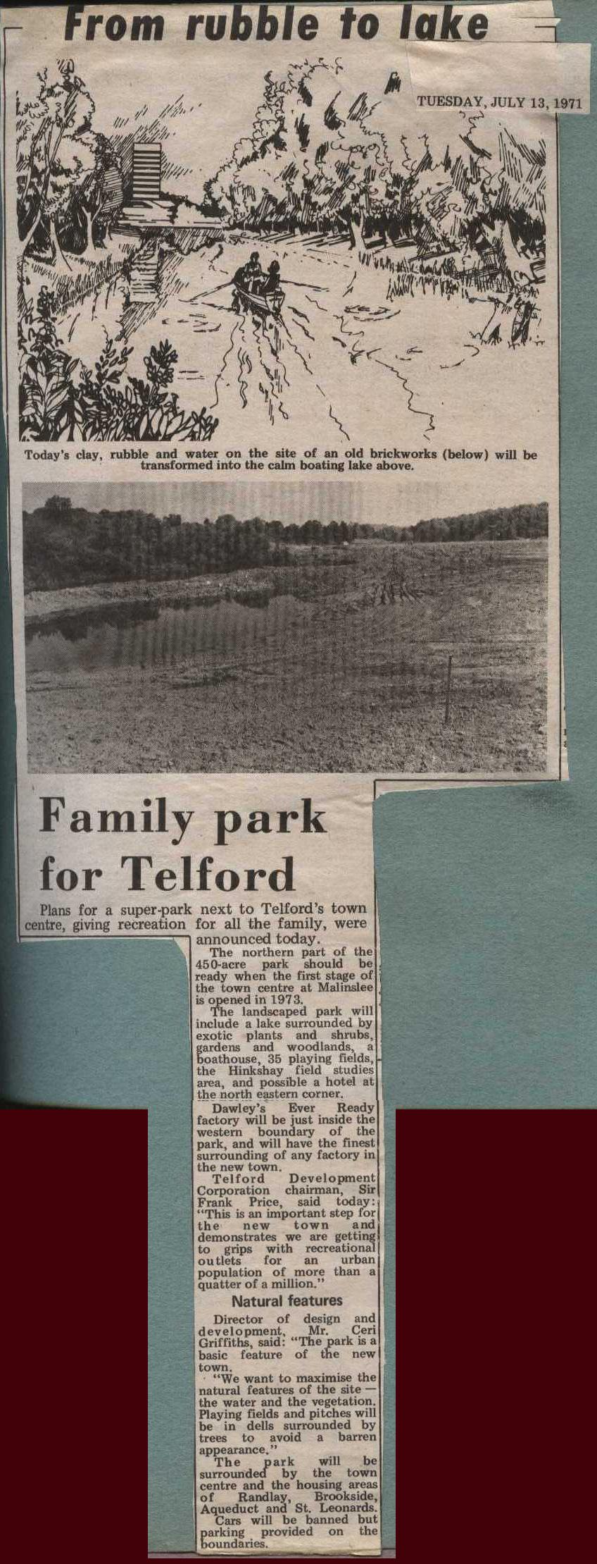 Family Park for Telford