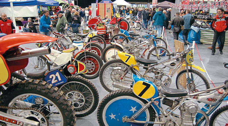 Classic Dirt Bike Show in Telford