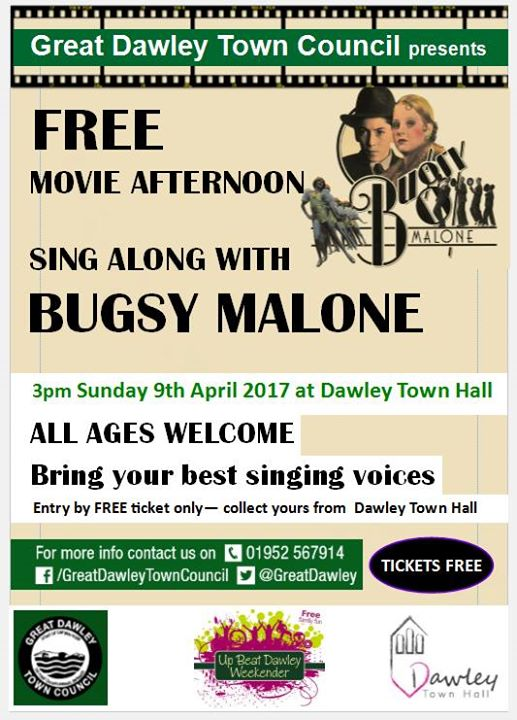FREE! Sing Along with Bugsy Malone - Telford Live