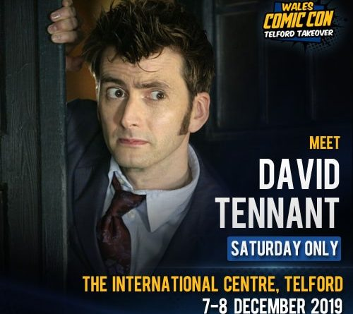 Dr Who and Walking Dead stars head for Telford