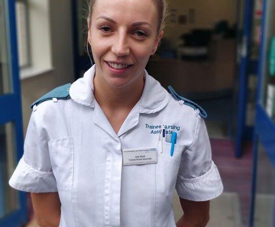 Trainee Nurse Associate saves drivers life