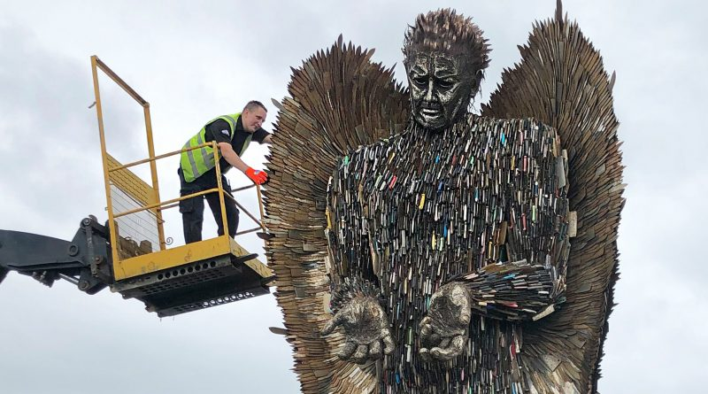 Knife Angel coming to Telford