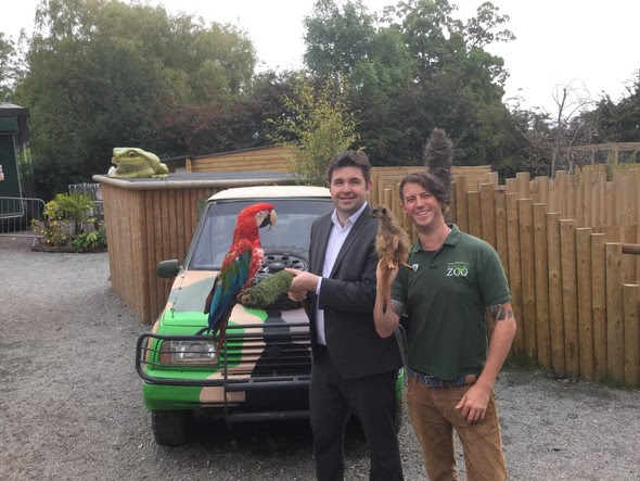 New location for Telford's Exotic Zoo