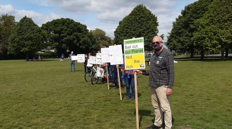 Bowring Park Protest against Polluters