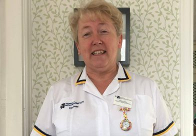 Elaine speaks of 'challenging' time on the NHS front line