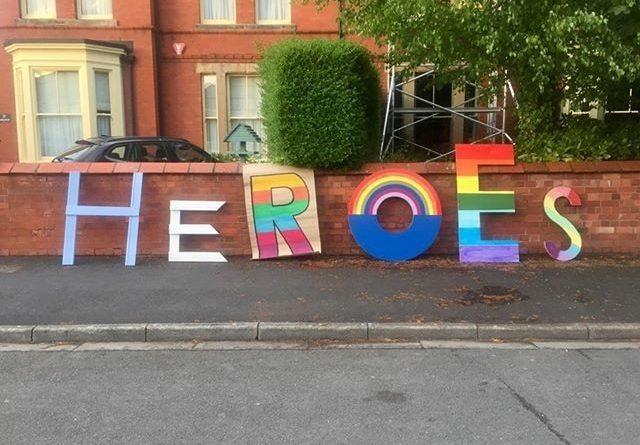 Heroes sign in Wellington