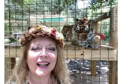 Carole Baskin praises the good work of Telford Big Giraffe Rescuer