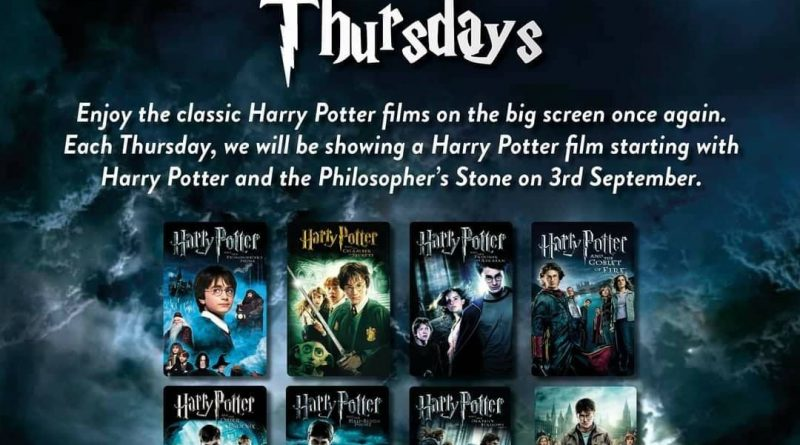 Every Harry Potter Movie, in order, on the big screen