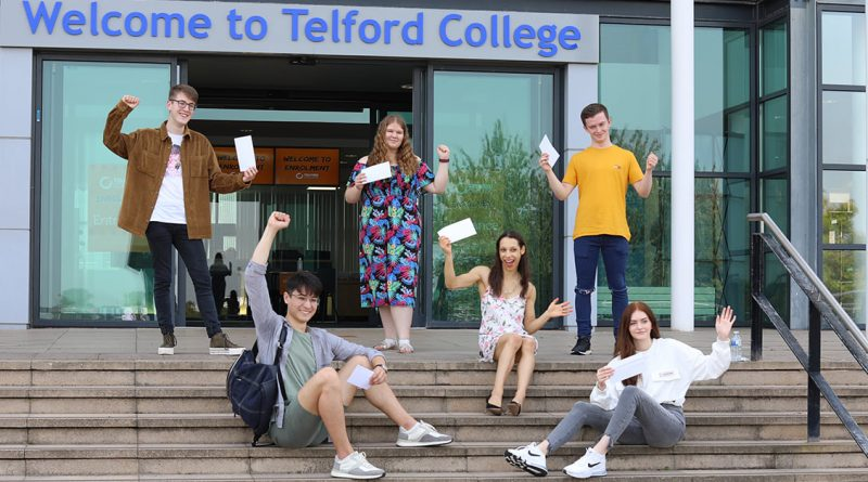 College celebrates another strong set of A level results