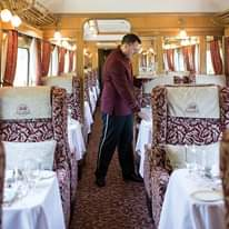 """Britain's poshest train – described by legendary actor Bill Nighy on TV as """"the"""