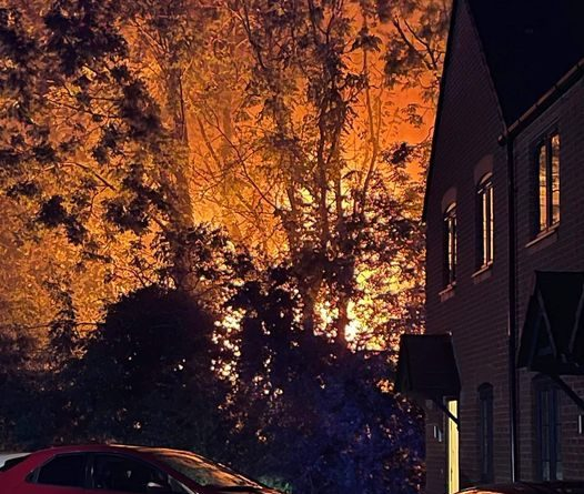 The fire in Church Road, Snedshill, Telford has been ruled as accidental, according to Shropshire Fire and Rescue.