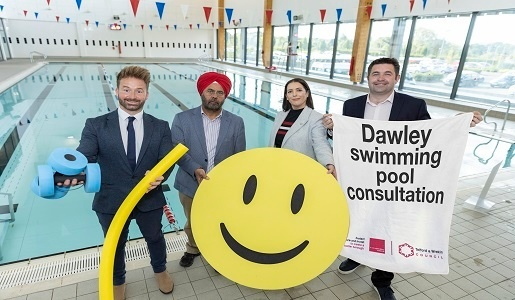 Share your views on the new swimming pool planned in Dawley